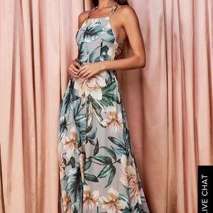 Beautiful Floral Lulus's Dress